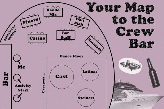 Crew Bar Map